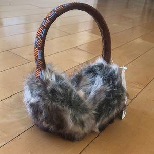 Anthropologie Faux Fur Earmuffs